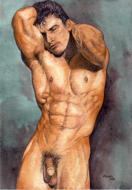 Male Nude Prints 119